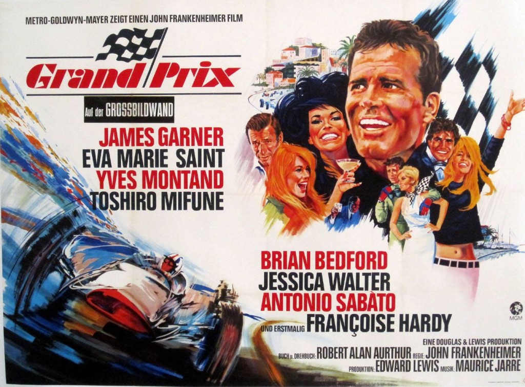 Grand Prix Movie Poster © Copyright 1966 MGM/Warner Bros.