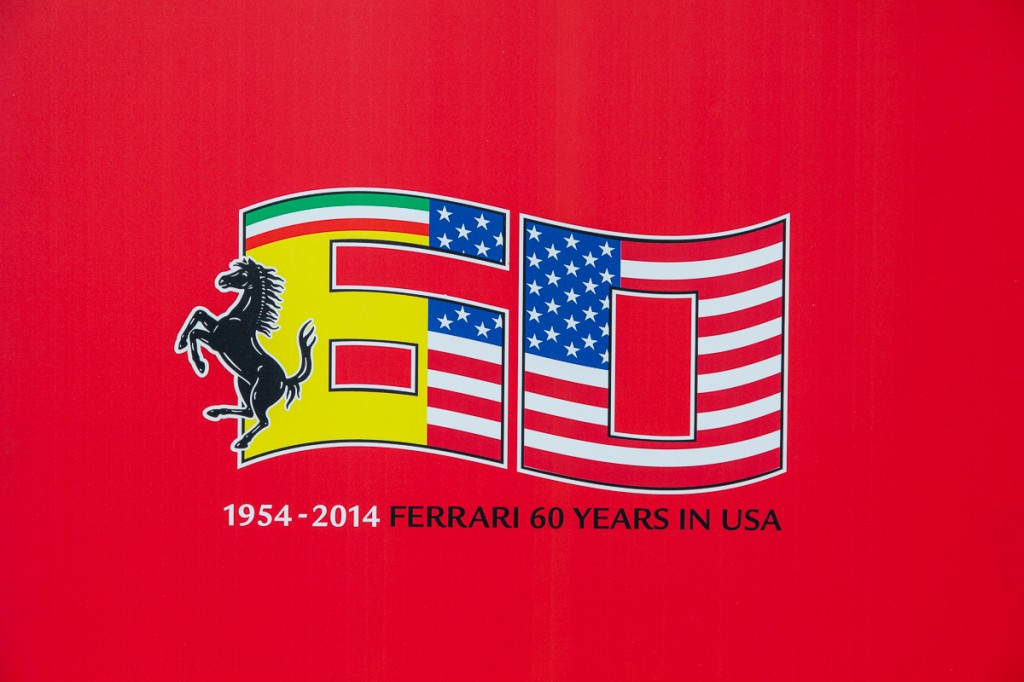 Race Through The Decades: 1954-2014. The 60th Anniversary of Ferrari in the USA